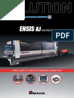 96ENSIS AJ 3kW_fibre Laser Cutting Machine