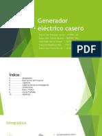 Generador Eléctrico Casero Modificado