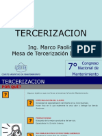 Definiciones y Etapas Del Proceso de Tercerización