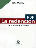 Murray%2c John_La Redención%2c Consumada y Aplicada.pdf