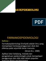 1. Definisi Farmakoepidemiologi