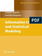 [Springer Series in Statistics] Sadanori Konishi, Genshiro Kitagawa - Information Criteria and Statistical Modeling (2008, Springer).pdf