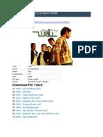Wali - MP3 Full Album.docx
