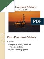 Minggu 3-4, Dasar Konstruksi Offshore