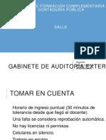Gabinete de Auditoria Externa