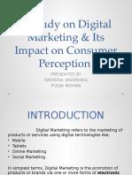 A Study on Digital Marketing & Its Impact Ppt (1)
