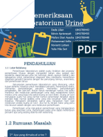 PPT Pemeriksaan Laboratorium Urine