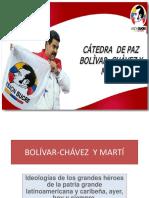 Bolivar, Martí y Chavez, Preparado Gilma Quintero, Facilitador Misión Sucre