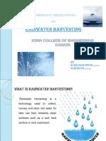 Rainwater Harvesting 1
