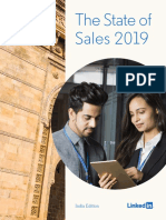 The State of Sales 2019 India Edition