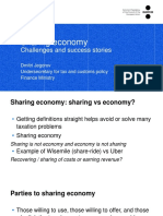 Sharing Economy - Challenges and Success Stories