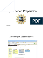 Project Report Preparation