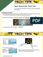 Birdog Tech Tips