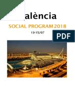 Social Program July