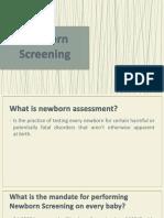Newborn Screening