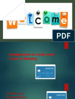 Types of credit card & Usage...pptx