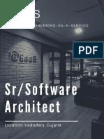 Sr Software Architect