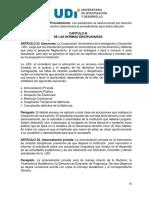 Reglamento Estudiantil UDI 2010 - Normas Disciplinarias.pdf