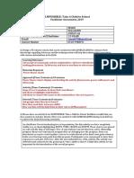 Facilitator Assessment