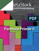 Formula Primer II - Metastock