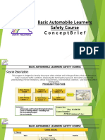 Basic Automobile Learners Safety Course 2019