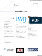 Members List – Association of Publishers in India