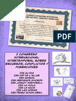 I Congreso Internacional Intertemporal sobre Recursos, Conflictos y Migraciones