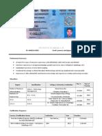 PraveenKumarAN Resume