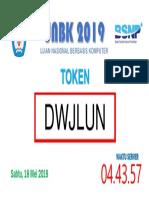 Token Unbk 2019