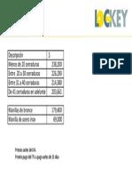 Lista de Precios Blenteck