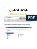 Pega Installation Document
