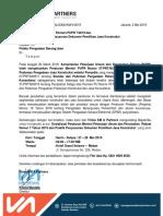 Sosialiasasi Permen PUPR No.7 Tahun 2019 (Medan)