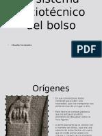El sistema sociotécnico del bolso.