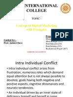 Organisational Behaviour Conflict Management