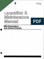 SR4 Generator and control panels_Operation and maintenance manual.pdf
