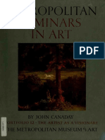 John Canaday - Metropolitan Seminars in Art. Portfolio 12 The Artist (1958, The Metropolitan Museum of Art).pdf
