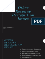 Other Revenue Recognition Issues