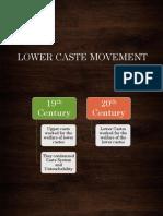 Lecture 15 - LOWER CASTE MOVEMENT.pdf