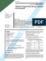 NBR 06658 - 1994 - Bobinas e Chapas Finas de Aço Carbono para Uso Geral.pdf