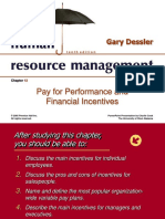 HRM - Pay and Incentives