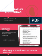 CARDIOPATIAS ADQUIRIDAS