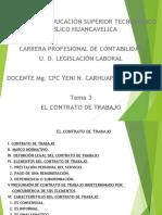 Contrato de Trabajo Tema 4