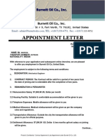 Contract Agreement Appointment_letter- Burnett Oil Co{Mofeed}