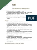 REQUISITOS Y RECAUDOS SOLICITUD TARJETA DE CRÉDITO.pdf
