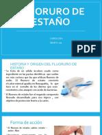 Fluoruro de Estaño