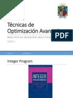 10. Programación Entera - Cortes