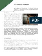 LAS CULTURAS DE GUATEMALA.docx