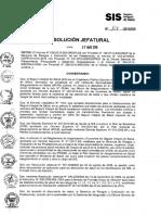 Rj2015_107 Administrativa Sobre El Llenado Del Formato Unico de Atencion Fua