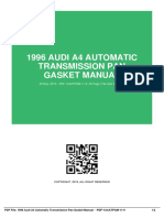 ID7086b5497-1996 audi a4 automatic transmission pan gasket manual