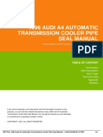 IDefca689da-1996 audi a4 automatic transmission cooler pipe seal manual